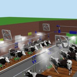 Расчёт вентиляции в коровниках и производство современных вентиляционных клапанов